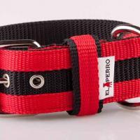 5 cm széles JUICY STRIPS nyakörv - piros